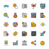 Finance Vector Icons 2. Here is a set of Finance Vector Icons that is great for finance, money, banking, statistics visuals, payments and transactions Royalty Free Stock Photos