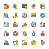 Finance Vector Icons 6. Here is a set of Finance Vector Icons that is great for finance, money, banking, statistics visuals, payments and transactions Royalty Free Stock Photos