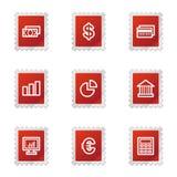 Finance web icons Royalty Free Stock Photos