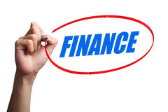 Finance Word Concept royalty free stock photography