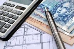 Financement de Real Estate en Croatie photos libres de droits