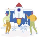 Financement de sources externes de recherche d'actionnaires illustration stock