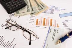 Finances d'affaires Photographie stock libre de droits