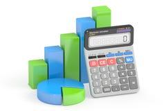 Finances d'affaires, opérations bancaires et concept de statistique Photo stock