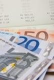 Finances d'argent Image libre de droits