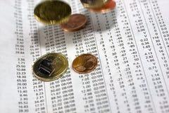 Finances de corporation photo libre de droits