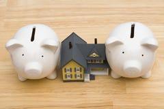 Finances de maison images libres de droits