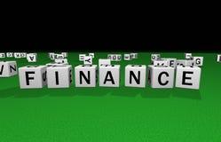 Finances de matrices illustration stock