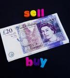 Finances de transition : emprunt provisoire pour la propriété neuve. Image stock