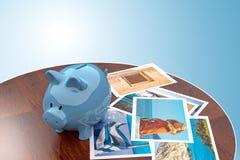 Finances de voyage Photographie stock libre de droits