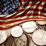 Finances des Etats-Unis Images libres de droits