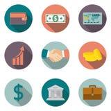 Finances, encaissant Images libres de droits