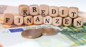 Finances et crédit Image libre de droits