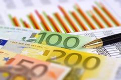 Finances et marché boursier Image libre de droits