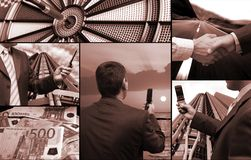 Finances et technologie Photographie stock libre de droits