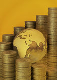 Finances globales Photos stock