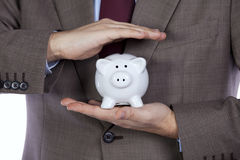 Finances protection Royalty Free Stock Photo