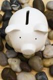 Finances on the Rocks Stock Image