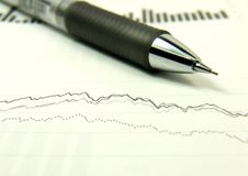 Finances statement Stock Photo