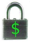 financièrement bloqué photo libre de droits