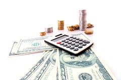 Financiële Ñalculation stock fotografie