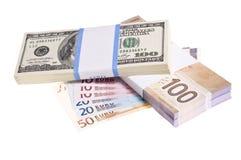 Financiële achtergrond Royalty-vrije Stock Afbeeldingen
