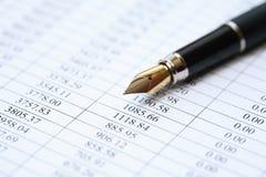 Financiële achtergrond Stock Foto's