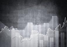 Financiële achtergrond Royalty-vrije Stock Foto's