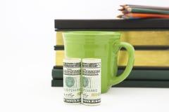 Financiële administratietijd stock foto