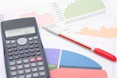 Financiële analyse Stock Foto's