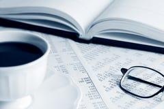 Financiële analyse. stock foto's