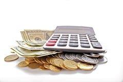 Financiële berekening royalty-vrije stock afbeelding