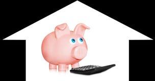 Financiële berekening royalty-vrije stock foto