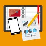 Financiële berekeningen Royalty-vrije Stock Afbeeldingen