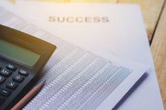 Financiële boekhoudingsanalyse Royalty-vrije Stock Foto's