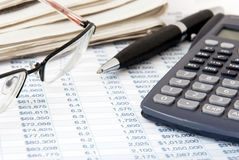 Financiële calculator