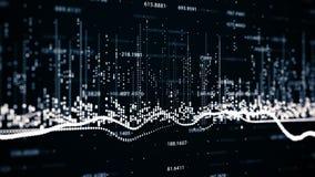 Financiële cijfers en diagrammen die stijgende winsten tonen Royalty-vrije Stock Fotografie