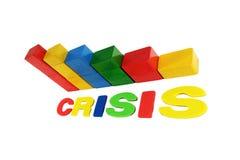 Financiële crisis Royalty-vrije Illustratie