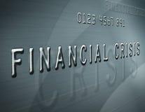 Financiële Crisis Royalty-vrije Stock Afbeelding