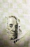 Financiële crisis: het gat is in begroting Stock Afbeelding