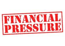 Financiële druk Stock Afbeelding
