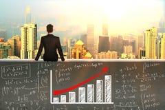 Financiële Growth stock foto's
