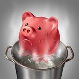 Financiële Hitte royalty-vrije illustratie
