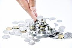 Financiële investering en besparingen Royalty-vrije Stock Afbeeldingen