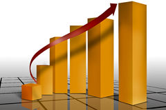 Financiële marketing Royalty-vrije Stock Afbeeldingen