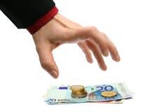 Financiële misdaad Stock Fotografie