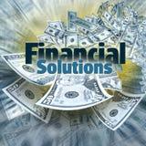 Financiële Oplossingen royalty-vrije stock foto