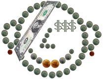 Financiële piraat Royalty-vrije Stock Afbeeldingen