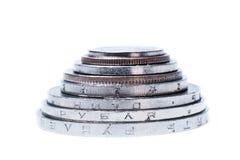 Financiële piramide Royalty-vrije Stock Foto