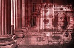 Financiële Problemen royalty-vrije illustratie